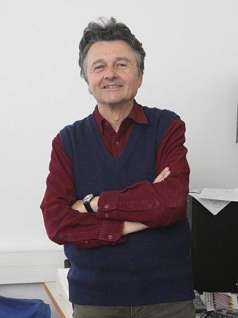 Profesor brněnské fakulty strojního inženýrství Miroslav Drückmiller.