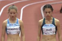 Mílařka Natálie Hluší z Gymnázia Ludvíka Daňka si během pandemie nedávno vytvořila osobní halový rekord.
