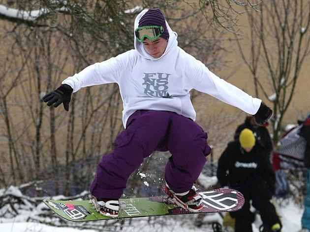 Snowpark v brněnské Lesné.