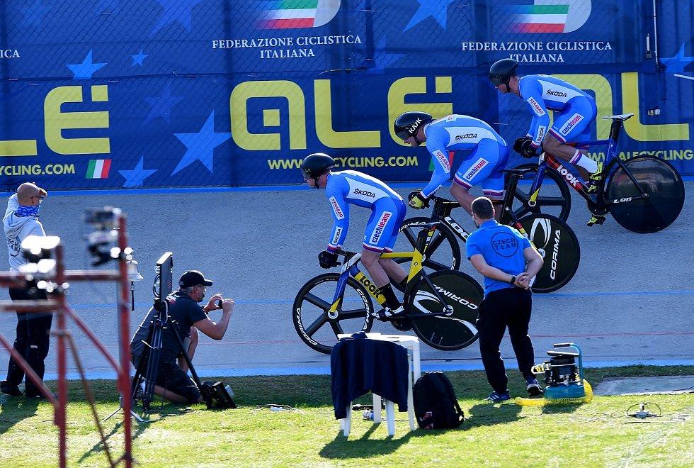 Druhý den evropského šampionátu ve Fiorenzuola d'Arda.