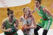 První brněnské derby této sezony patřilo Královu Poli (v zeleném).