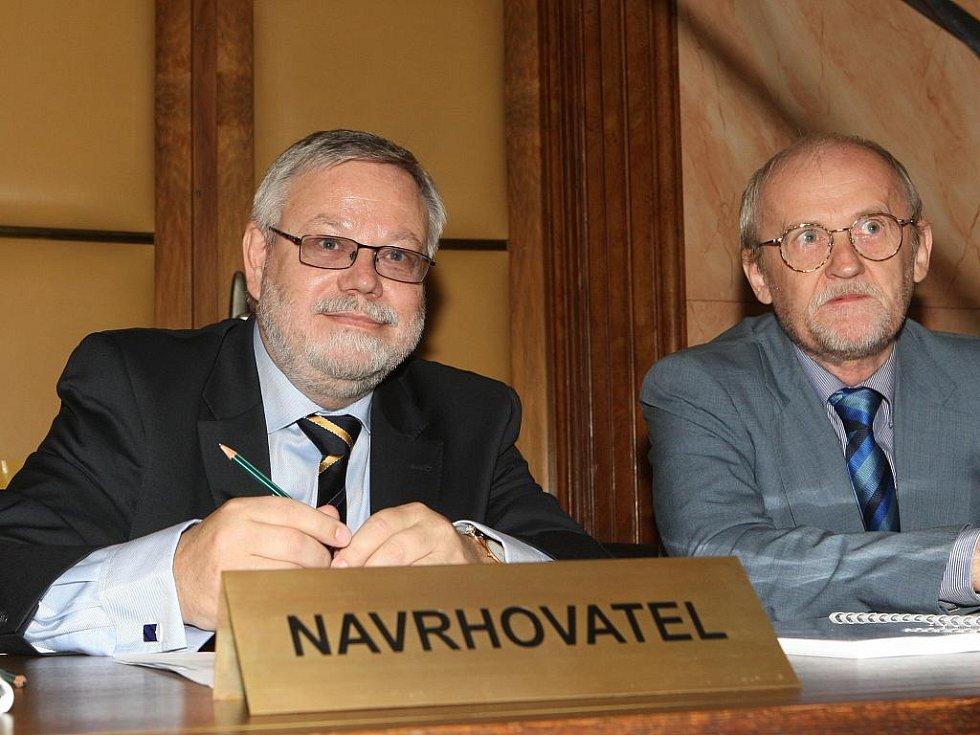 Jednání o Lisabonské smlouvě v Brně.