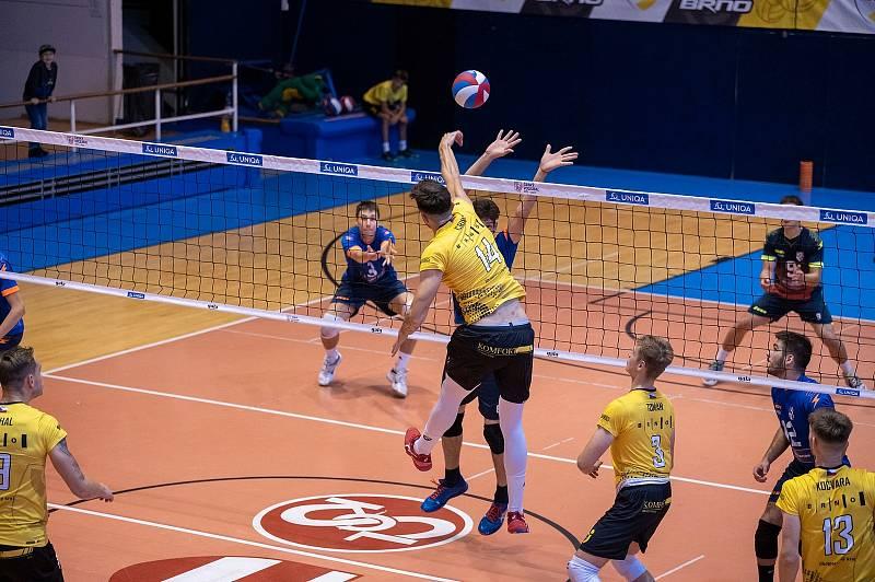 Brněnští volejbalisté ovládli v září domácí Memoriál Karla Lázničky a do nové extraligové sezony vyrukují i s posilou z Brazílie.