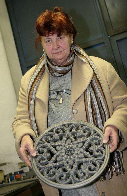Současná majitelka brněnské slévárny Alfe Brno Hana Portová