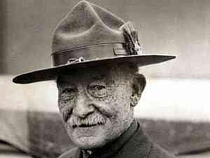 Zakladatel skautingu Robert Baden-Powell