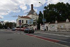Mendlovo náměstí v Brně.