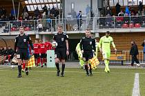 Fotbalisté Zbrojovky odehráli první zápas jarní části druhé ligy na hřišti Chrudimi.