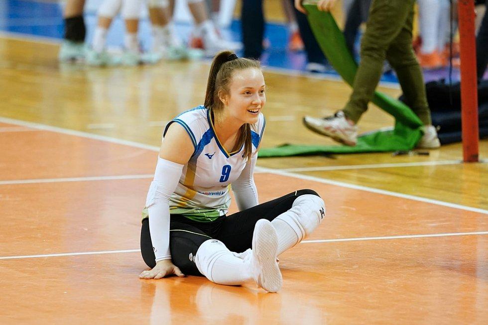 Volejbalistka KP Brno Daniela Digrinová.