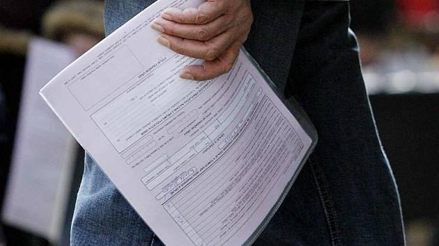 Daňové přiznání - formulář