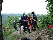 Záchrana osob na Levnově