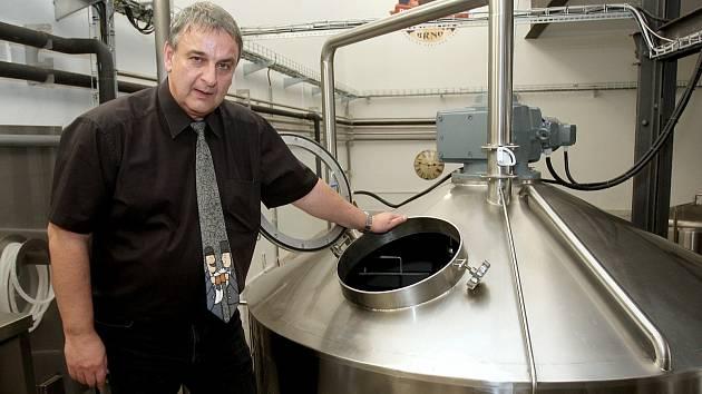 Parní pivovar v Brně.