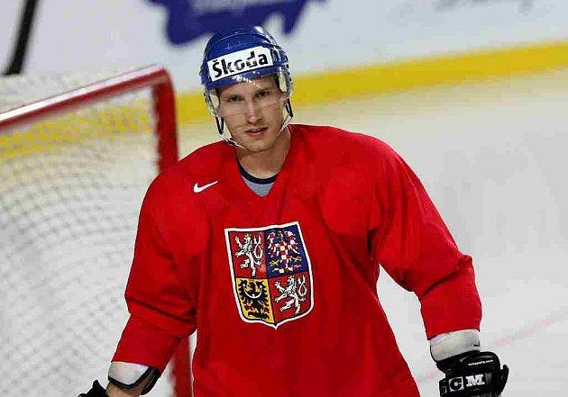 Obránce Martin Richter je mistr světa z roku 2001.