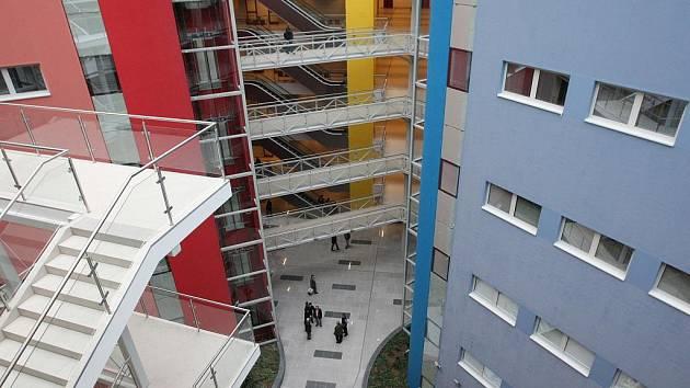 Justiční areál v Brně.
