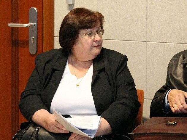 Jiřina Káňová u brněnského soudu.