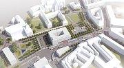 Vítězný návrh podoby Mendlova náměstí představili brněnští radní. Pracovali na ní architekti Michal Palaščák a Michal Poláš