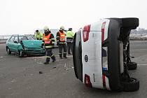 Nehoda u motorestu Rohlenka na Brněnsku. Ilustrační foto.