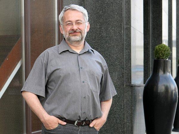 Architekt Ondřej Kukral je hlavním projektantem hotelu Grandezza na Zelném trhu vBrně.