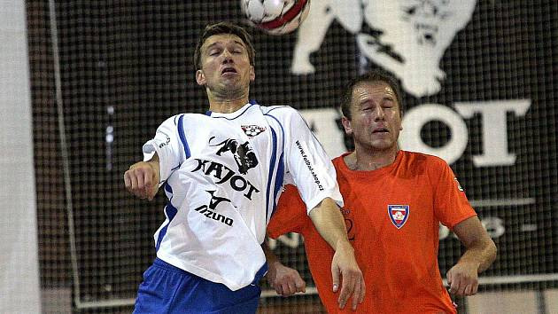 Futsalista brněnského Helasu Miroslav Semerád.