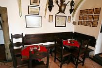 Brněnská restaurace Šermířský klub L. A. G.