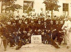 15. výročí založení sboru hasičů v Soběšicích.