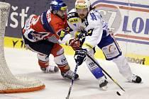 Páté finalové utkání play off Tisport extraligy v ledním hokeji mezi Pardubicemi a Brnem v pardubické ČEZ Areně.