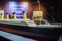 Výstava Titanic v Brně.