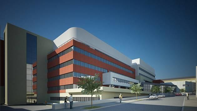 Druhá etapa stavby Mezinárodního centra klinického výzkumu (ICRC) začne v listopadu.