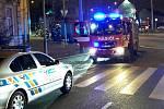 Tragický požár v bystrcké Rerychově ulici. V zakouřené budově našli mrtvolu