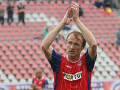 Bývalý fotbalista Boby Brno Richard Dostálek.
