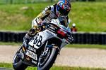 Motocyklový závodník Karel Abraham.