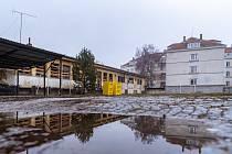 Bývalý vojenský areál v Lerchově ulici v Masarykově čtvrti v Brně, jehož prostor bude součástí úprav náměstí Míru.