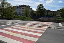 Lávka přes řeku Svratku v brněnské ulici Poříčí je už delší dobu uzavřená.