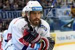 Američan Peter Mueller ve službách hokejové Komety Brno.