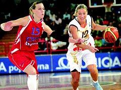 Zuzana Žirková dirigovala tým k výhře nad CSKA Moskva, ale toto vítězství nakonec není Brňankám nic platné.