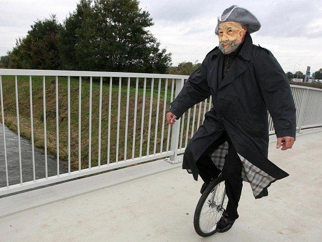 Nová stezka pro cyklisty Kaštanová v Brně.