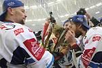 Hokejisté Komety slaví dvanáctý titul.