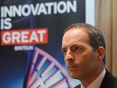 ministr obchodu a investic Spojeného království Lord Ian Livingston.