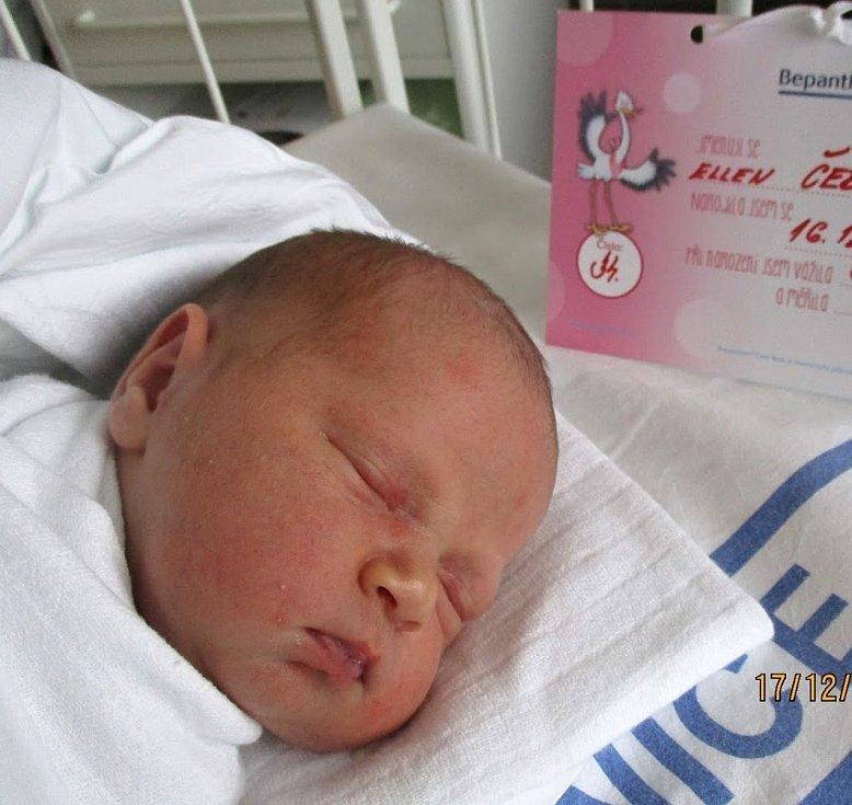 Ellen Červená, 16. 12. 2020, 3630 g, 51 cm, Dolní Bojanovice, Nemocnice Břeclav