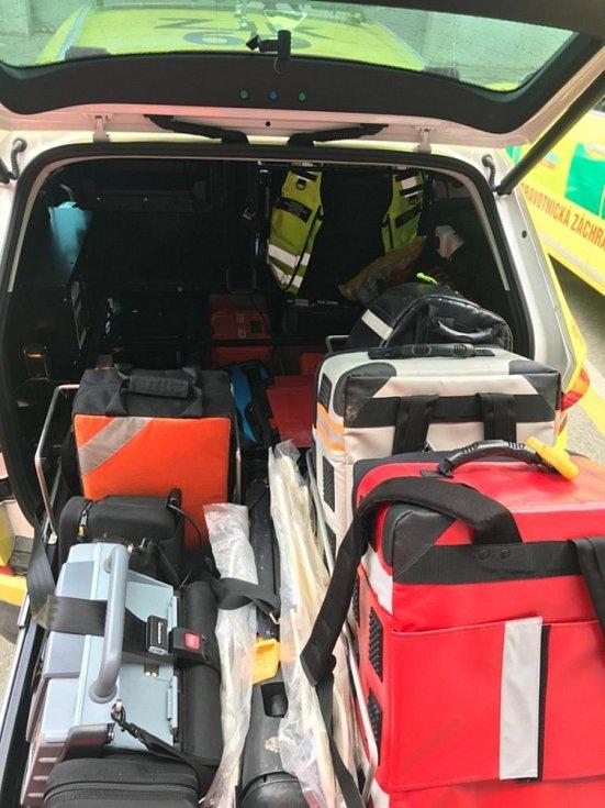 Novou Škodou Kodiaq bude vyrážet na výjezdy inspektor provozu jihomoravské záchranky.