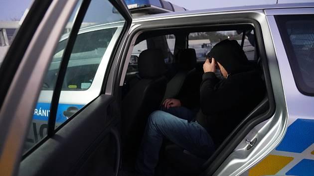 Policisté při práci. Ilustrační foto