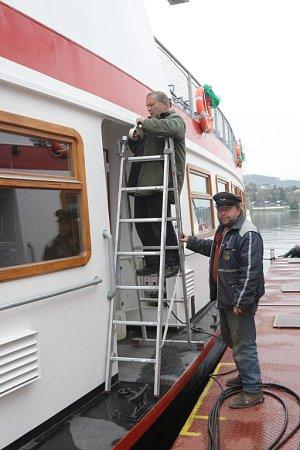 Lodě se na brněnskou přehradu vrátí už vsobotu.