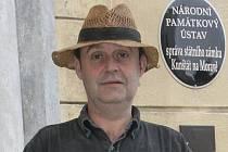 Kastelán kunštátského zámku Radim Štěpán.