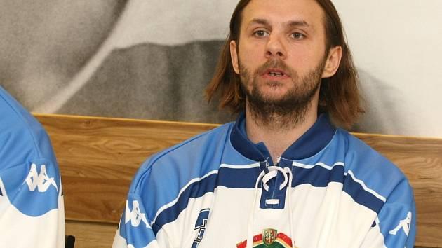 Jan Hanzlík v dresu Komety.