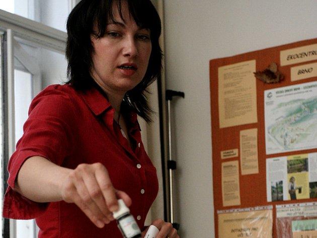 Aromaterapeutka Barbora Oklešťková.