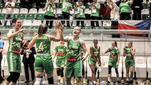 Basketbalistky Králova Pole si na podzim užily spoustu radosti v EuroCupu. Zahrát si ho chtějí i následující sezonu.