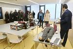 Brno 23.01.2020 - slavnostní otevření Vzdělávacího a výcvikového střediska ZZS JmK