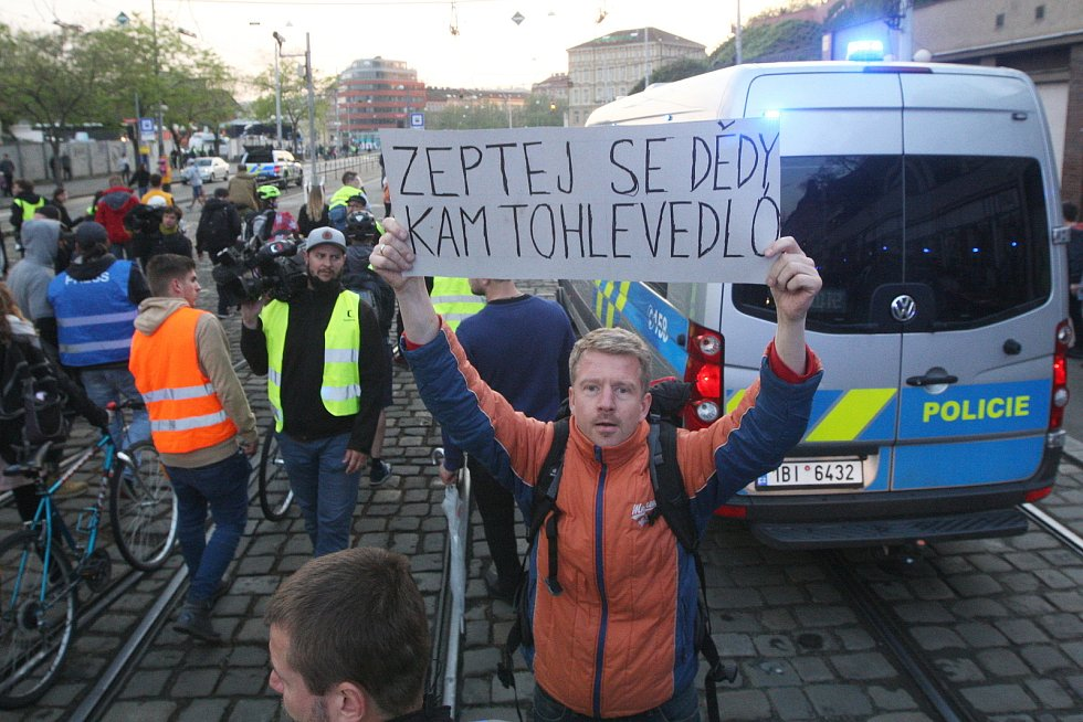 Prvomájové demonstrace v Brně