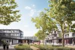 Vizualizace přestavby bloku domů od ateliéru Chybík+Krištof