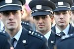 Patnáct jihomoravských hasičů dostalo medaili za věrnost. Dalších devětašedesát nových požárníků se slavnostním slibem přihlásilo do služby.