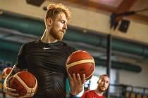 Český basketbalový reprezentant Patrik Auda pochází z Ivančic. Foto: ČBF/David Šváb